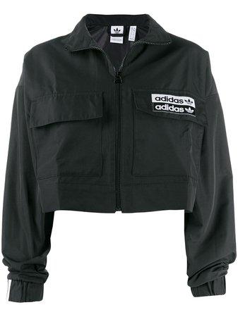Adidas Cropped Sports Jacket - Farfetch