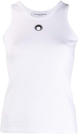 Embroidered Logo Tank Top