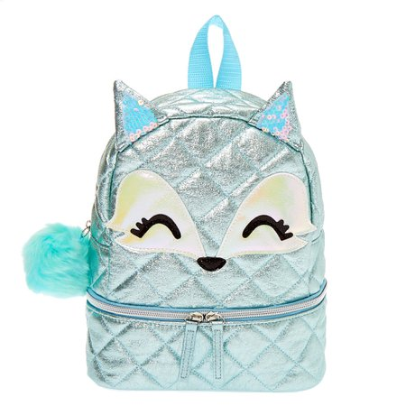 Trixie the Fox Mini Backpack - Mint | Claire's