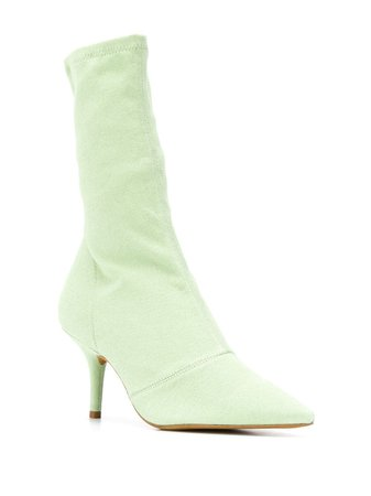 Yeezy Stretch Lime Ankle Boots