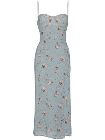 Reformation Kourtney floral-print Midi Dress -