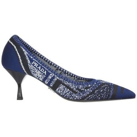 Prada Pumps Court Heel Shoes