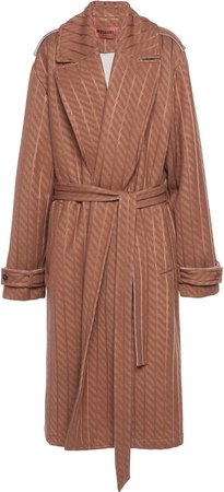 Missoni Oversized Gabardine Trench Coat