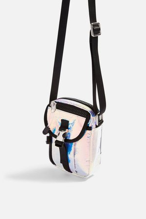 IBIZA Crinkle Cross Body Bag - Bags & Wallets - Bags & Accessories - Topshop USA