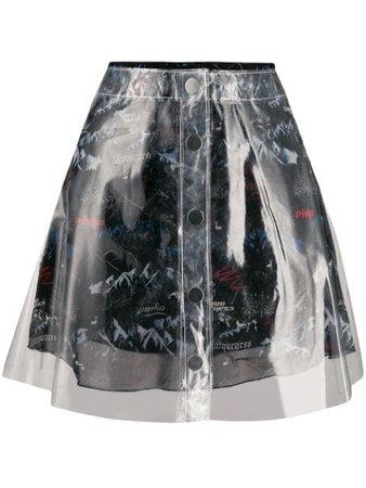 Pinko Double Midi Skirt 1Q101E7843ZZT Neutral | Farfetch