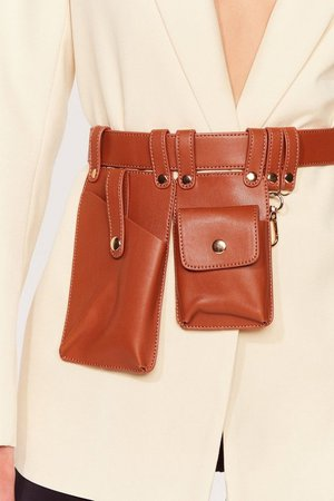 Utility and Me Faux Leather Belt | Nasty Gal