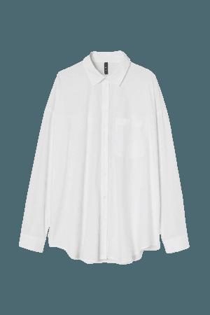 H&M Oversized Cotton Shirt