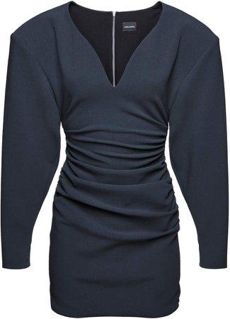 Magda Butrym Batwing Stretch-Wool Dress