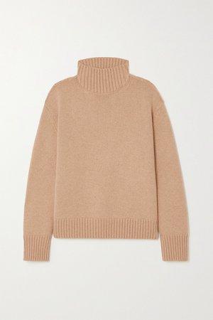 Beige Parksville cashmere turtleneck sweater | Loro Piana | NET-A-PORTER
