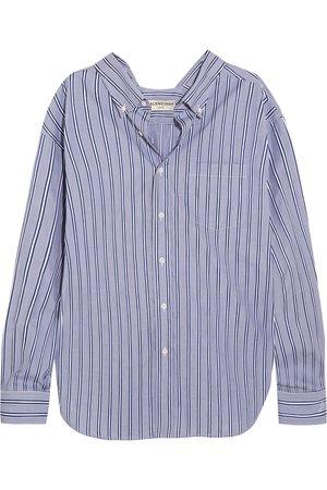 Balenciaga | Striped cotton-poplin shirt | NET-A-PORTER.COM