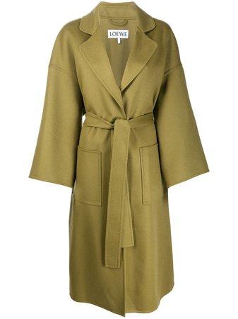 Loewe, Belted Oversized Coat