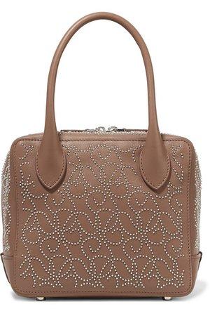 Alaïa | Studded leather tote | NET-A-PORTER.COM