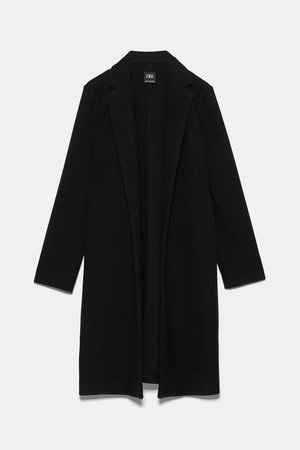 BASIC COAT - NEW IN-WOMAN | ZARA United States black