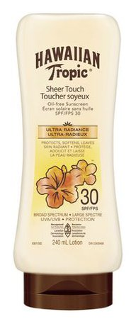 Hawaiian Tropic Sheer Touch Spf 30 Oil Free Sunscreen Lotion | Walmart Canada