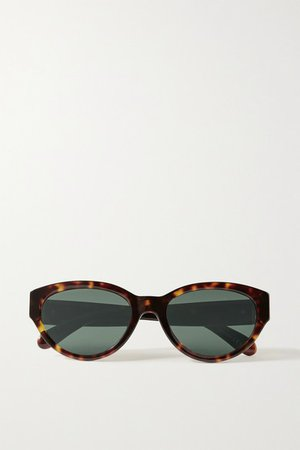 Givenchy   Cat-eye tortoiseshell acetate sunglasses   NET-A-PORTER.COM
