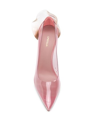 Pink Le Silla Petalo Transparent Pumps For Women | Farfetch.com