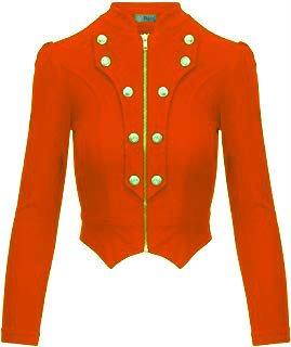 Military Jacket (edited) orange