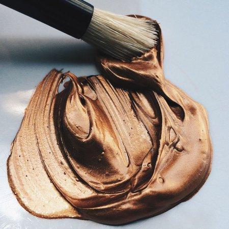 Bronze Paint Aesthetic