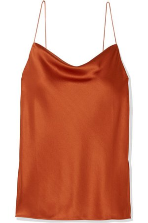 Cami NYC | The Axel draped stretch-silk charmeuse camisole | NET-A-PORTER.COM