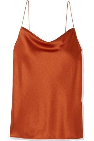 Cami NYC | The Axel draped stretch-silk charmeuse camisole | NET-A-PORTER.COM