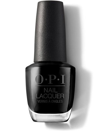 Black Onyx - Nail Lacquer | OPI