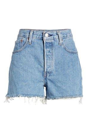 Levi's® 501® High Waist Cutoff Denim Shorts (Flat Broke) | Nordstrom