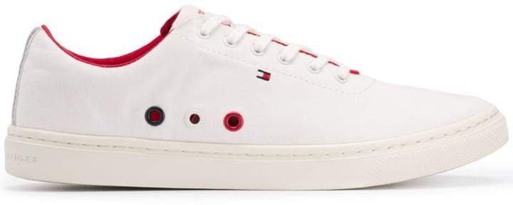 low-top tennis sneakers