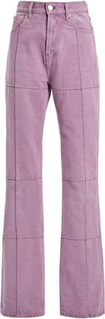 Jacquemus Carro Organic Cotton Straight-Leg Jeans