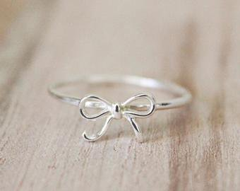 bow ring etsy - Google Search