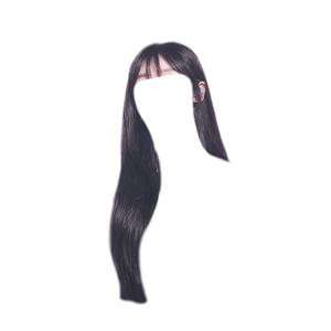 Bangs Black Hair PNG
