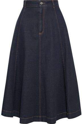 Ellen Flared Denim Skirt