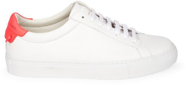 Urban Street Leather Sneakers