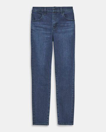 Alana High Rise Cropped Skinny Jean