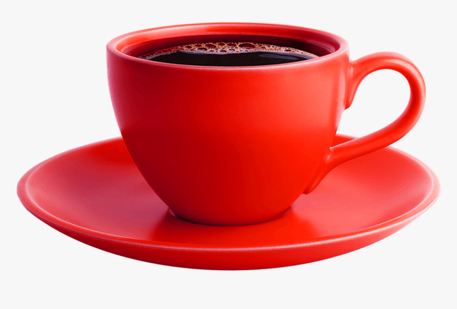 Red Cup Of Coffee Png, Transparent Png , Transparent Png Image - PNGitem