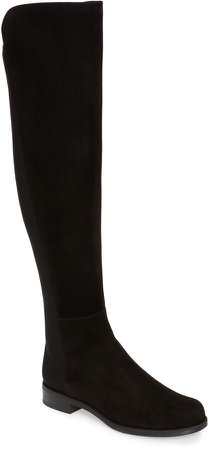 5050 Over the Knee Leather Boot