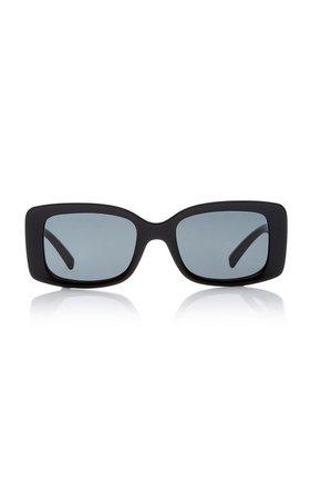 Medusa Square-Frame Acetate Sunglasses by Versace | Moda Operandi