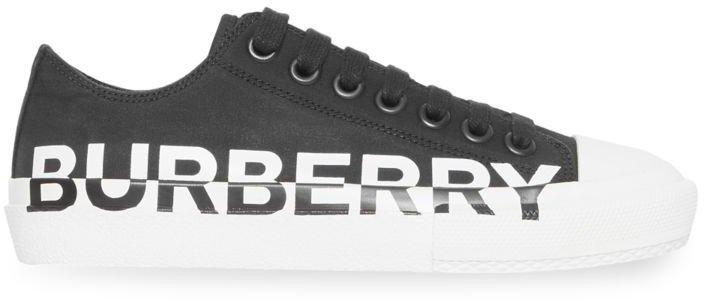 Larkhall Logo Leather Sneakers