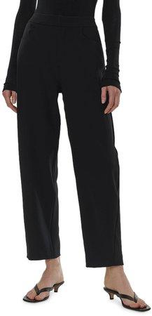 Novara Cotton Blend Crop Trousers