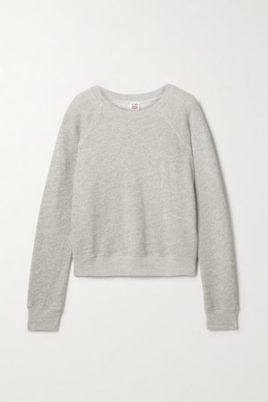 Hanes Cotton-jersey Sweatshirt - Light gray