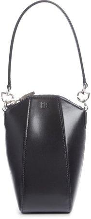 Antigona Mini Vertical Leather Crossbody Bag