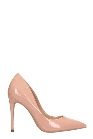 Steve Madden Pink Patent Pumps Sandals