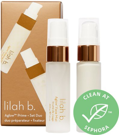 Mini Aglow Primer + Setting Spray Duo