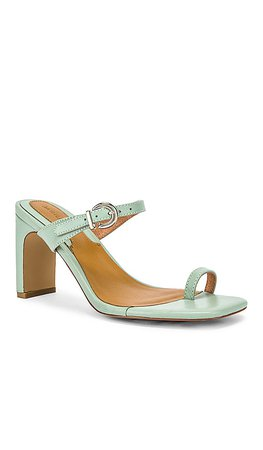 JAGGAR Contemporary Leather Heel in Mint | REVOLVE