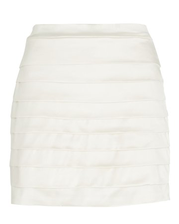 Nonchalant The Label Anabelle Ruched Mini Skirt | INTERMIX®