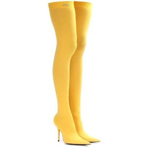 balenciaga bootie yellow