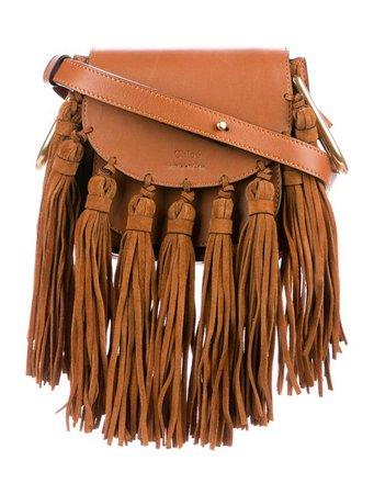Chloé Mini Fringed Hudston Bag - Handbags - CHL90363 | The RealReal
