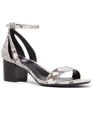grey Michael Kors Cardi Flex Sandals & Reviews - Sandals - Shoes - Macy's