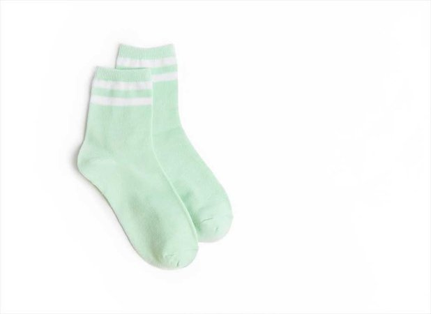 Sporty Striped Ankle Sock