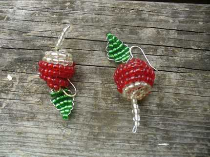 Radish earrings luna lovegoog