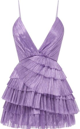 Alice McCall Don't Be Shy Pleated Shell Dress